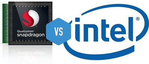 Smartphone dùng chip Intel hay Qualcomm thì tốt hơn?