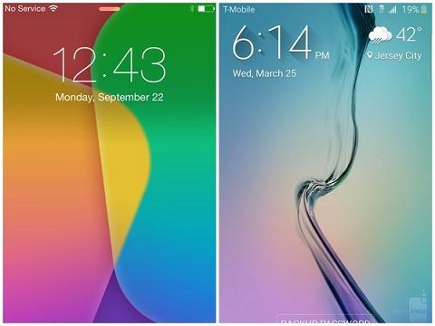 """Samsung Galaxy S6 edge và iPhone 6 nên chọn """"ai""""?"""