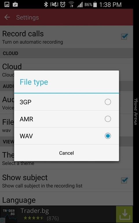 Hướng dẫn sử dụng ghi âm cuộc gọi trên điện thoại Android