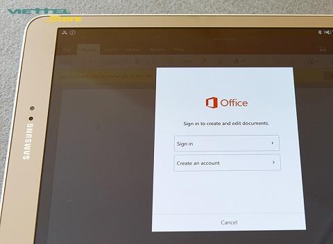 Hướng dẫn cách sử dụng ứng dụng văn phòng của Galaxy Tab S2