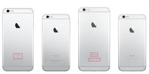 Trong ảnh lần lượt là iPhone 6s Plus, iPhone 6s, iPhone 6 Plus và iPhone 6