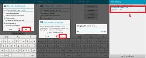 Cách sao lưu dữ liệu trên Android đơn giản, dễ thực hiện