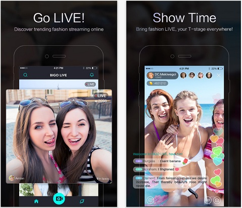 """Top 5 ứng dụng live stream cho điện thoại """"hot"""" nhất"""