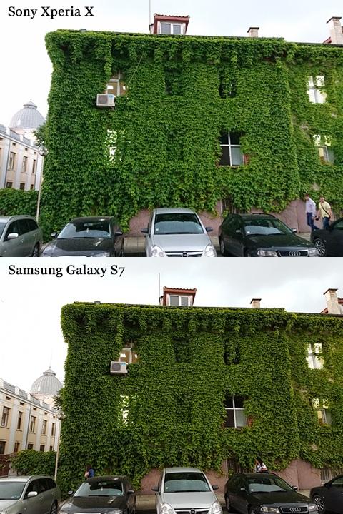 """""""Đọ trình"""" camera của Sony Xperia X và Samsung Galaxy S7 - 143098"""