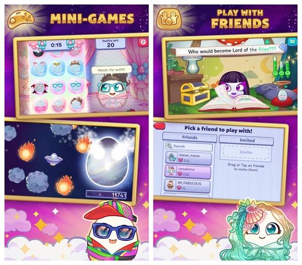 Game nuôi thú ảo trên điện thoại Egg!