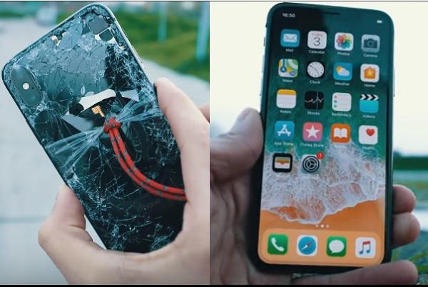 """Màn """"hành hạ"""" thả rơi iPhone X của cư dân mạng và đây là kết quả"""