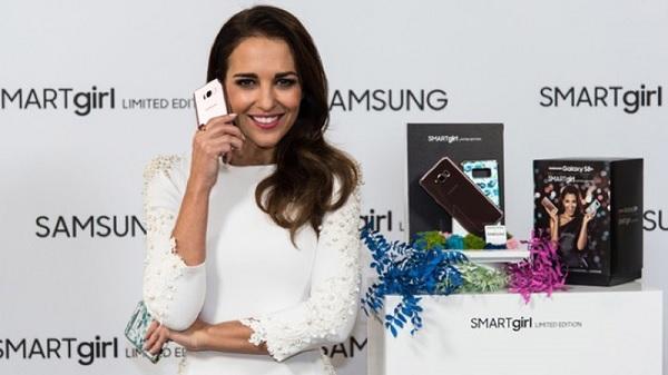 Galaxy S8 Plus dành cho nữ được giới thiệu trong sự kiện của nữ diễn viên Paula Echevarria