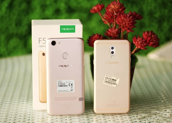 Nên mua Galaxy J7+ hay OPPO F5?