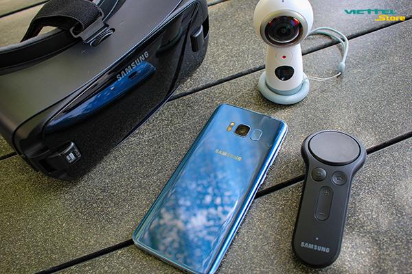 Gear VR 2017 kết hợp Galaxy S8 đem lại trải nghiệm thực tế ảo mới lạ và tuyệt vời nhất