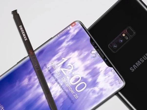 Hình ảnh bất ngờ về Samsung Note 9
