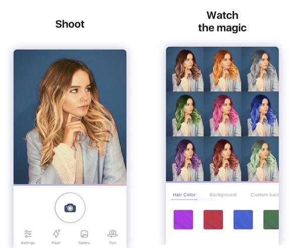 Khám phá 3 cách đổi màu tóc trên điện thoại cực dễ dàng và đơn giản