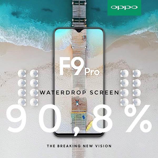 Chân dung OPPO F9