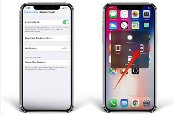Tuyệt chiêu đem nút Home iPhone X quay trở lại, bấm siêu thích