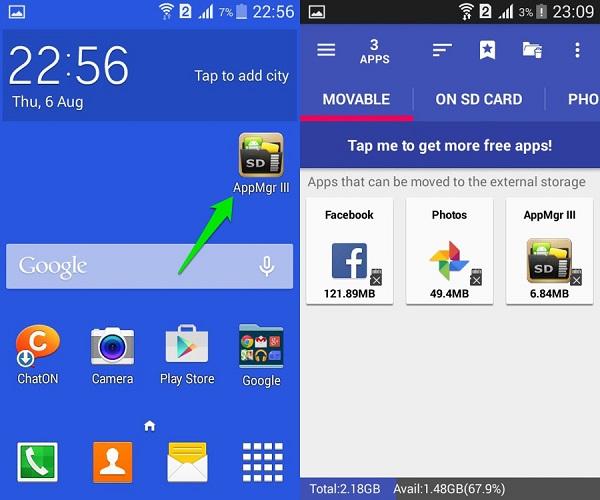 Android bộ nhớ nhanh đầy và những cách khắc phục không thể tốt hơn