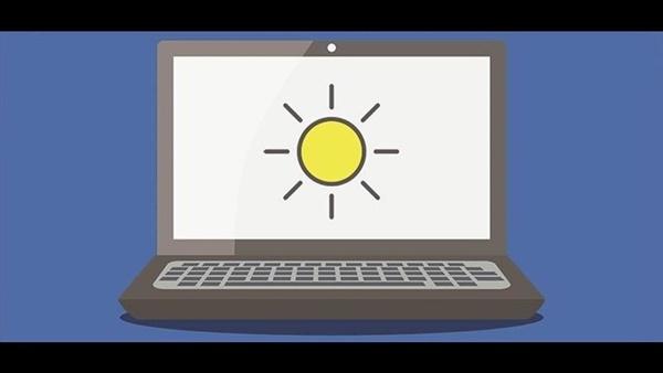 Điều chỉnh độ sáng màn hình máy tính giúp giảm mỏi mắt hiệu quả