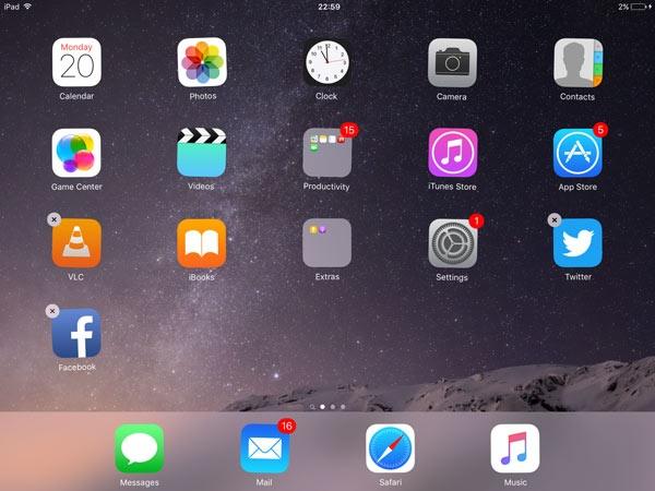 Mẹo tăng tốc iPad Mini dành cho người mới làm quen iOS