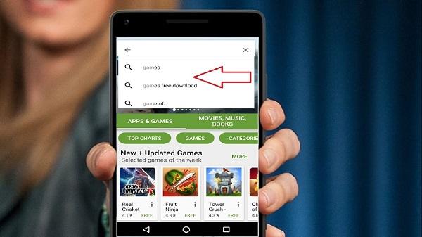 Cách xóa lịch sử tìm kiếm CH Play dành cho người mới làm quen Android
