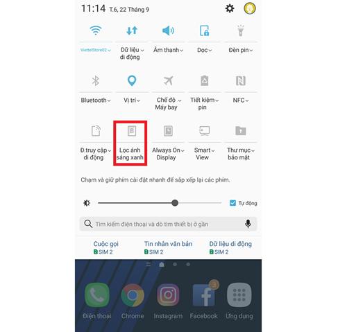 Hướng dẫn lọc ánh sáng xanh trên Samsung smartphone chi tiết bằng hình ảnh