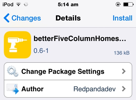 Hướng dẫn tạo 5 hàng icon trên iPhone đơn giản, yêu cầu phải Jailbreak
