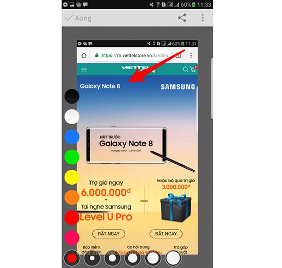 Hướng dẫn ghi chú trên ảnh cho Android siêu nhanh, cực kỳ tiện lợi