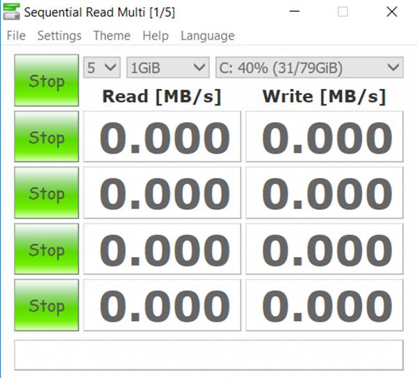 Cách test tốc độ ổ cứng chính xác, link download trực tiếp