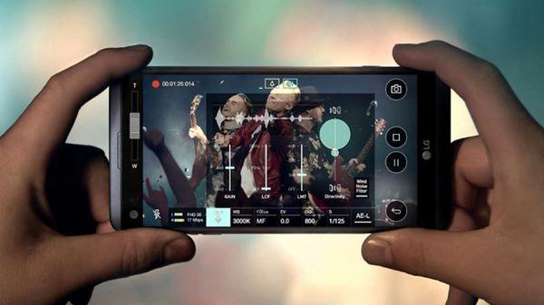 LG V20 được đánh giá rất cao về khả năng quay video 4K siêu nét