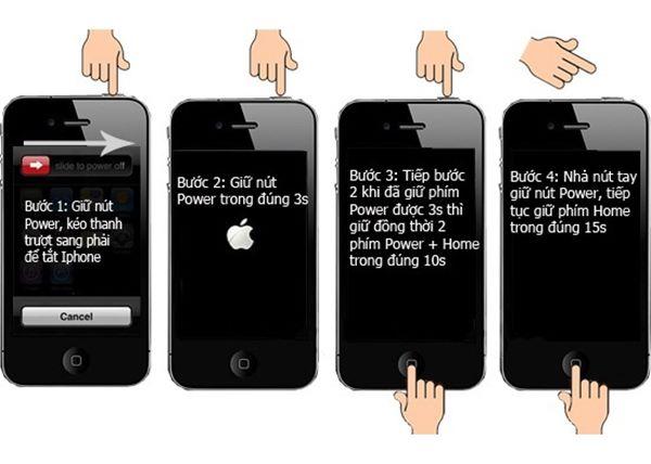 """""""Bẻ khóa"""" iPhone bằng cách Restore iPhone?"""