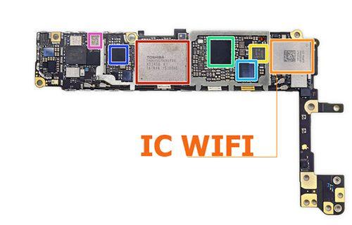 iPhone bị mờ nút Wifi