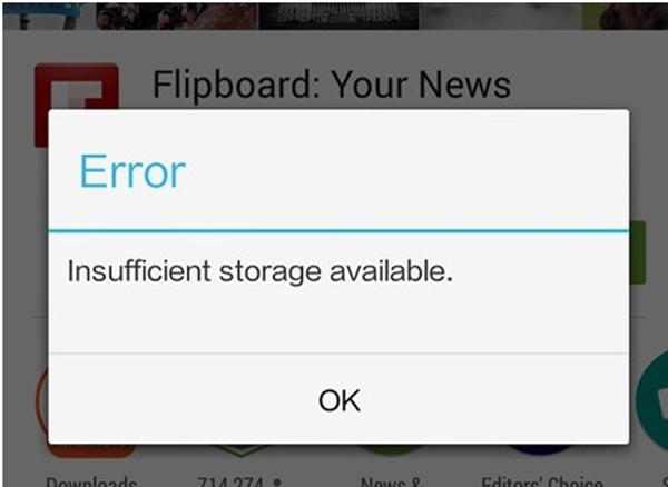 Khá nhiều người gặp phải lỗi này khi sử dụng điện thoại