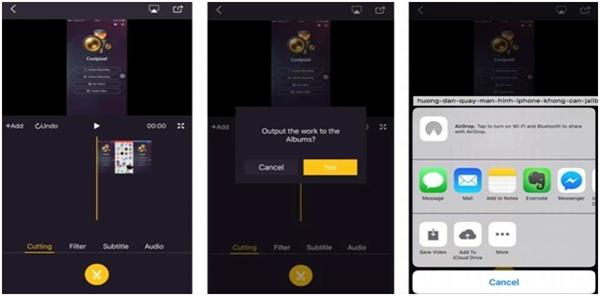 """2 cách quay video màn hình iPhone dễ như """"trở bàn tay"""""""