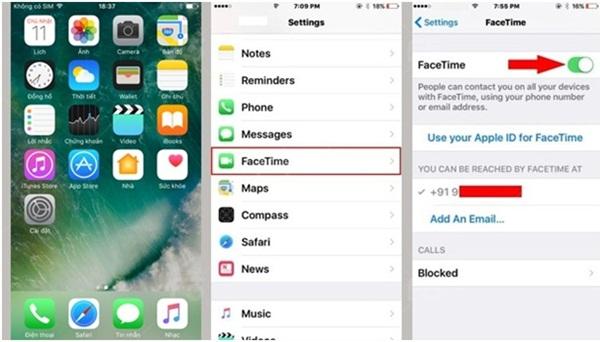 iPhone không gọi được video call (1)