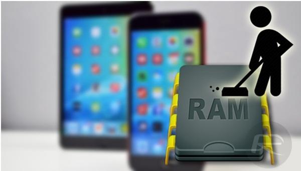 Cách giải phóng RAM cho iPhone siêu tốc