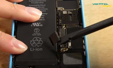 Làm thế nào khi iPhone 5C bị chai pin?