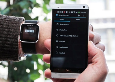 Kết nối smartwatch với smartphone chạy Android