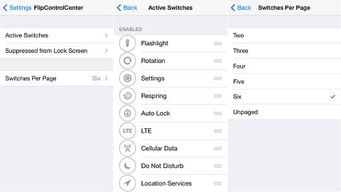 Cách tắt bật 3G nhanh cho iPhone ngay trên thanh thanh Control Center