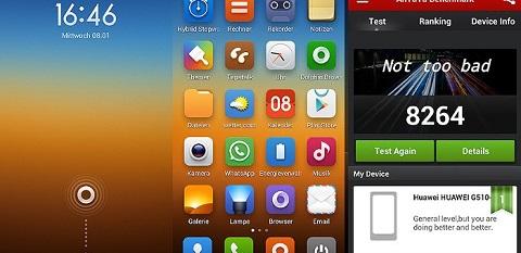 Miui Rom, một bản rom không chính thức được phát triển dựa trên việc Root điện thoại Android