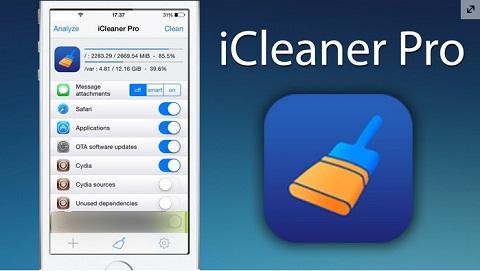 Sử dụng phần mềm dọn rác khi bộ nhớ iPhone bị đầy