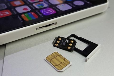 iPhone lock thường phải có sim ghép đi kèm để bắt được sóng ở Việt Nam