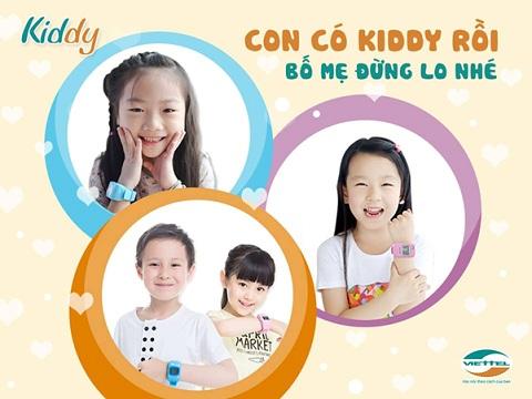 Với đồng hồ Kiddy, trẻ em luôn nằm trong tầm kiểm soát của bạn