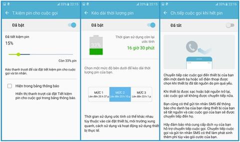 Cách dùng S-Power Planning và chế độ tiết kiệm pin trên smartphone Samsung