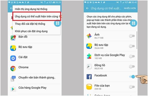 Cách tắt Screen Overlay trên điện thoại Samsung dễ như trở bàn tay