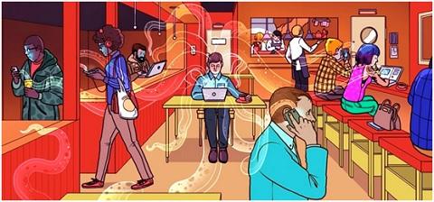 Cẩn thận khi truy cập các thông tin cá nhân tại những điểm Wifi công cộng