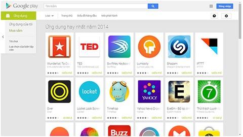 Google Play là một trong những nguồn cung cấp ứng dụng đáng tin cậy nhất