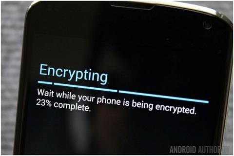 Mã hóa smartphone có nghĩa là thông tin sẽ bị xáo trộn cho đến khi bạn có khóa giải mã chính xác