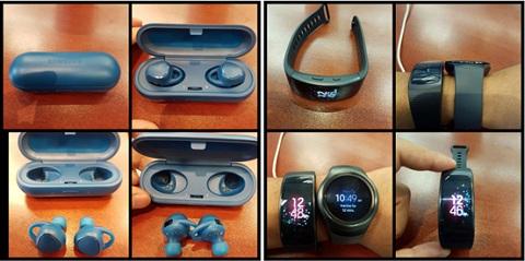 Samsung Gear IconX có thiết kế khá hút mắt, tạo độ năng động cho người dùng