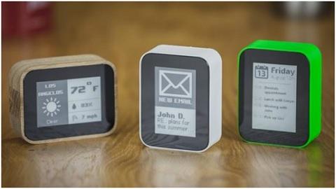 Màn hình e-ink chủ yếu dùng tông màu xám, đen và trắng