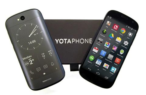Chiếc điện thoại 2 màn hình YotaPhone 2