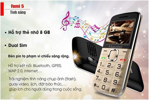 Đánh giá Masstel Fami 5 – Một trong những điện thoại cho người già tốt nhất