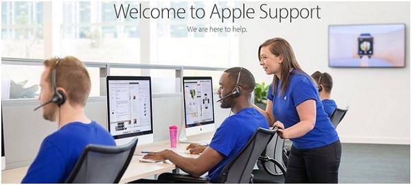 Trung tâm bảo hành của Apple sẽ hỗ trợ khi bạn quên mật khẩu iPhone