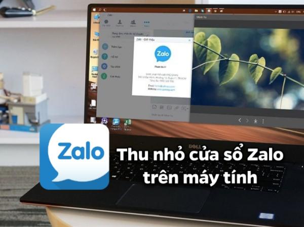 Cách thu nhỏ cửa sổ Zalo trên máy tính cực tiện dụng
